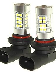 Sencart 2pcs 9005 niebla p20d que conduce los faros ligeros de las bombillas (blanco / rojo / azul / blanco caliente) (dc / ac9-32v)