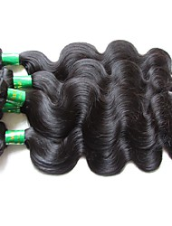 Nueva onda virginal india de la onda 3piece 300g del cuerpo del pelo de la mejor calidad en venta material original del pelo humano del