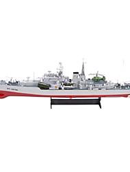 HT-2879 Navire de Guerre Plastique Chaînes 6 KM / H