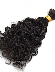 1 Piece 100% Human Bulk Hair Loose Curly High Quality Hair Bulk No Weave Natural Color Hair 100g/Pcs