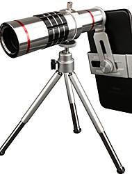 pickogen 18x manueller fokus teleobjektiv für iphone huawei xiaomi samsung für iphone 8 7 samsung galaxy s8 s7