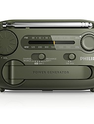 PHILIPS AE1120 / 93 Radio Portable Multi-Function Radio Self-Powered Semiconductor Hand-Cranked Power Generation USB Charging Built-in Alarm