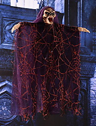 Halloween House Decorated Electric Skeleton Voice Hanging Ghost Props