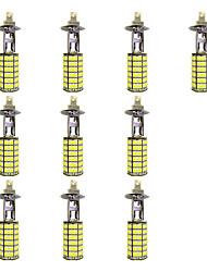 4w h1 120smd2835 près de la lampe antibrouillard pour voiture blanche dc12v 10pcs