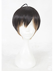 14inch Short Color Mixed A3 Masumi Usu Wig Synthetic Party Hair Wig Anime Cosplay Wigs CS-336I