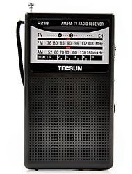 R218 Radio portable Radio FM Enceinte interne Blanc Noir