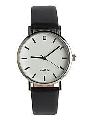 Women's Fashion Watch Japanese Quartz / PU Band Elegant Casual Black
