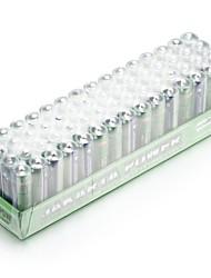 Jakarta power 1.5v aa seção de bateria universal 60pcs / pack