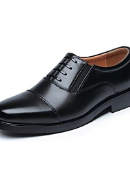 Men's Oxfords Formal Shoes Classic Style Comfort Leather Office & Career Walking Black