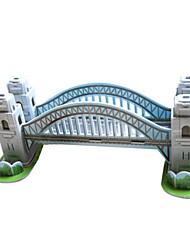 Jigsaw Puzzles DIY KIT 3D Puzzles Building Blocks DIY Toys Architecture Hard Card Paper
