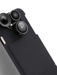 Caméra de téléphone portable purecolor iphone7 4.7 pouces grand angle 0.65x macro 180 oeil de poisson avec téléphone portable lentille
