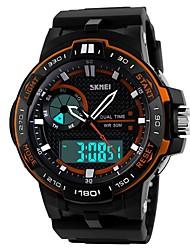 Smart Watch Longue Veille Enregistrement de l'activité Sportif MultifonctionFonction réveille Chronographe Calendrier Double Fuseaux