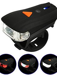 Передняя фара для велосипеда LED LED Велоспорт На открытом воздухе Подсветка Люмен USB Натуральный белый Повседневное использование