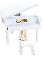 Caja de música Piano Madera