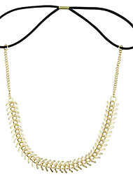 European and American High Selling Quality Punk Metal Fishbone Chain Hair Accessories Send the Same Bracelet Chain 1PCS