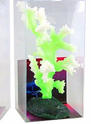 Décoration d'aquarium Corail Lumineux Silicone