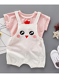 Baby Cotton Cartoon Clothing Set Summer