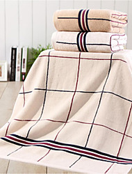 Bath Towel,Checkered High Quality 100% Cotton Towel