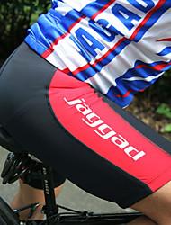 Jaggad Pantalones Acolchados de Ciclismo Hombre Bicicleta Pantalones Cortos Acolchados Ciclismo Espándex Un Color Ciclismo de Montaña