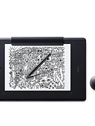 Wacom pth860 / k1-f графическая панель для рисования с ручкой 2 finetip pen 8192 уровень давления 5080 lpi графический планшет