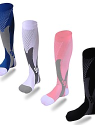Adulte Chaussettes de Sport Course Basket-ball Football Basket-ball / football / football / volley-ball / base-ball Anti-transpiration-1