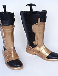 Обувь для косплэй Сапоги для косплея Overwatch Косплей Аниме Обувь для косплэй Искусственная кожа/Полиуретановая кожа Полиуретановая кожа