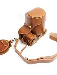 Dengpin pu кожаный чехол для камеры сумка для sony ilce-6500 a6500 16-70mm объектив (различные цвета)