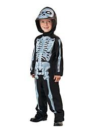 Halloween Props Skeleton/Skull Ghost Cosplay Festival/Holiday Halloween Costumes Vintage Leotard/Onesie Halloween CarnivalKids
