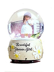Balls Music Box Toys Round Furnishing Articles Girls' Pieces