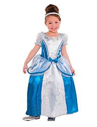 Uma-Peça/Vestidos Princesa Cinderella Conto de Fadas Festival/Celebração Trajes da Noite das Bruxas Vintage Vestidos TiarasDia Das Bruxas