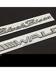 Автомобильная эмблема для мерседес-benz bmw lexus чистый металлический знак
