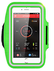 5.5 inch Running bag Armband Water Resistant With Window Spandex For iPhone Samsung Huawei Outdoor Hiking Walking Biking