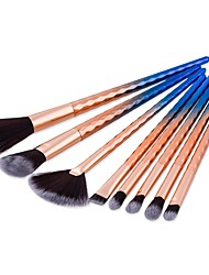 8Pcs Makeup Brushes Set Foundation Powder Fan Brushes Wave Design For Womem Beauty Professional Make Up Brush