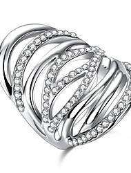 Settings Ring Luxury Euramerican Fashion Elegant Noble Mixed Birthday Wedding Movie Gift Jewelry