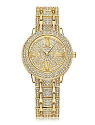 Women Bracelet Watches Fashion Luxury Lady Rhinestone Wristwatch Ladies Crystal Dress Quartz Watch Clock Montre Femme