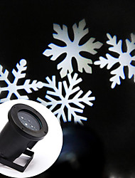 LED Snowflake Single White 6W Outdoor Lawn Snowflake Lamp Voltage AC100  240V