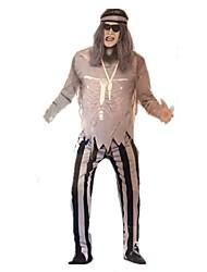 Costumes de Cosplay Bal Masqué Pirate Cosplay Fête / Célébration Déguisement d'Halloween Autres Rétro Hauts Pantalon CasqueHalloween