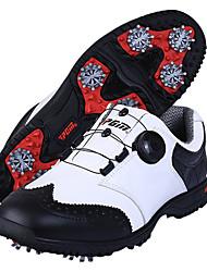 Повседневная обувь Обувь для игры в гольф Муж. Противозаносный Anti-Shake Амортизация Дышащий Износостойкий Выступление Резина Пешеходный