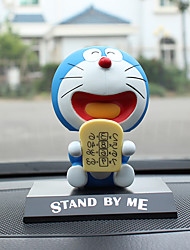 DIY Automotive Ornaments Doraemon Set Single Viking Bread Shaking His Head Doll Car Pendant & Ornaments  Jade Crystal