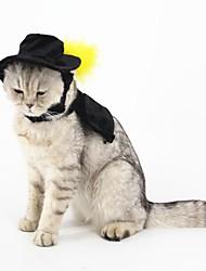 Кошка Собака Костюмы Аксессуары для шерсти Одежда для собак Косплей Сплошной цвет