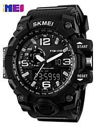 SKMEI 1155  Dual Display Wristwatches Digital Quartz Watch Chronograph Waterproof Relogio Masculino Fashion Sports Watches