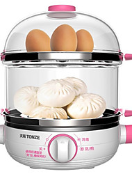TONZE DZG-W414F Egg Cooker Double Eggboilers Health Care Alarm Clock LED Low Noise Timing Function 220V  Multi-functional Integration