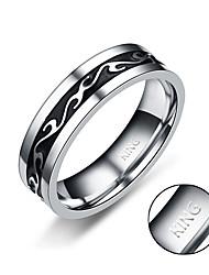 -Титановая сталь--Персональный подарок-Кольца-