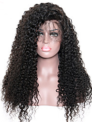 Curly Pre Plucked Lace Front Human Hair Wigs For Black Women With Baby Hair 250% Indian Kinky Curly Hair Wig Non-Remy Hair