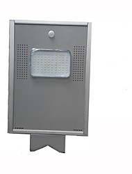 Hxxy-issl-08 80led lumière solaire intelligente intelligente du corps humain 8w éclairage solaire intégré de la rue éclairage de la route