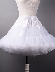 Women's Wedding / Party Underskirt Slips A-Line Slip / Ball Gown Slip Short-Length Polyester / Tulle Petticoats Tutu