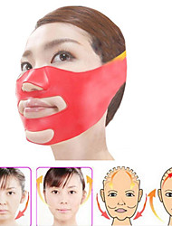 Silicone Thin Face Mask 3D V-Line Lift Face Bandage Belt Slimming Facial Double Chin Skin Lifting Slim Massager Health Care