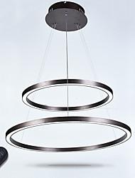 Люминесцентная люстра с подсветкой крытые современные потолочные подвесные светильники люстры осветительные приборы с дистанционным