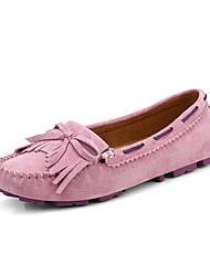 Feminino Sapatos de Barco Caminhada Conforto Tênis com LED Sintético Primavera Verão Outono Casual Combinação RasteiroAmarelo Azul Rosa