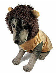 Dog Costume Dog Clothes Cosplay Lion